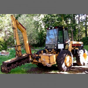 Used Tiger Tractor & Flail Mower in Brandon Oregon