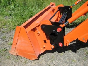 Ellis Fab and Design, LLC manufactured bucket attachment