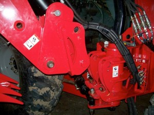Ellis Fab and Design Quick Coupler for Brush Fox Flail Mower